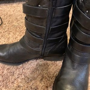 Gianni Bini Shoes - gianni bini leather Biker boots